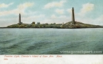 Thatcher Light, Thatcher's Island of Cape Ann, Mass., c. 1905
