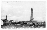 Southern Lighthouse and Fog Whistle, Thacher Island, circa 1922