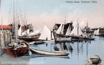 Fishing Boats, Rockport, Mass., circa 1910