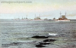 The Fleet in Harbor, Rockport, Mass., circa 1910
