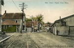 Main Street, Pigeon Cove, Showing Tool Factory, c. 1915