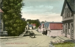 Rush Hour, Granite St., Pigeon Cove, 1909