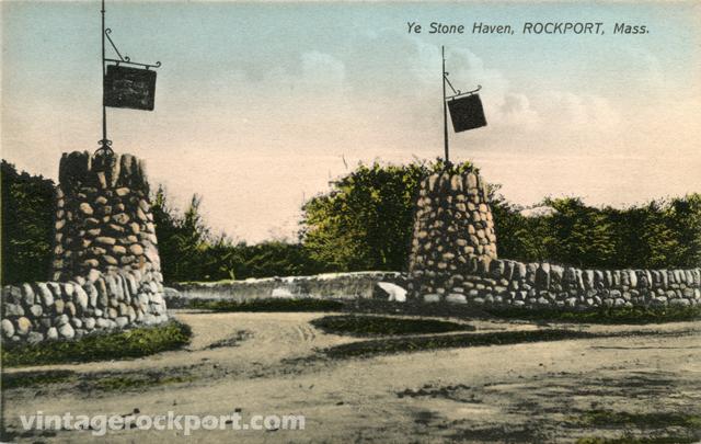 Ye Stone Haven, Rockport, Mass., circa 1912 (1/2)