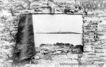 Birch Bark Framed View of Twin Lights, 1906