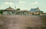 Railroad Station, Rockport, Mass., c. 1911