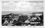 Elevated View of the Town, Harbor and Bearskin Neck, c. 1920