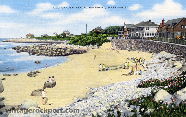 Old Garden Beach, Rockport, Mass.