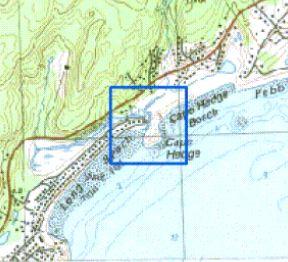 Saratoga River, Cape Hedge, Rockport, Mass., circa 1906 (2/2)