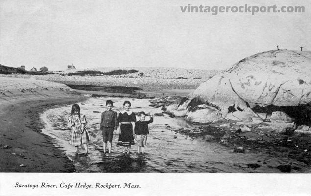Saratoga River, Cape Hedge, Rockport, Mass., circa 1906 (1/2)
