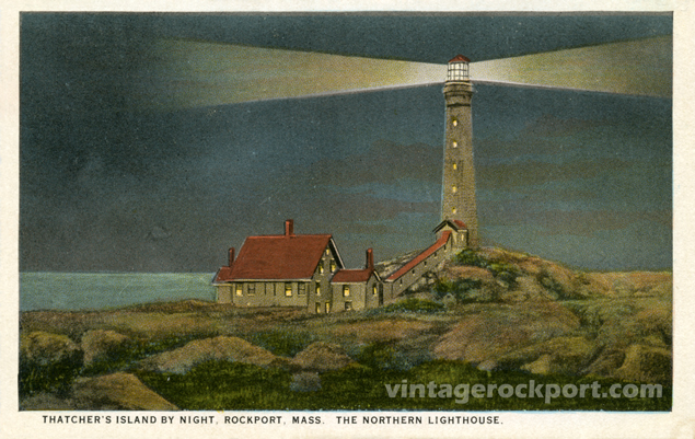 Thatcher's Island By Night, Rockport, Mass.