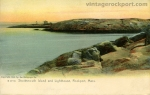 Straitsmouth Island and Lighthouse, Rockport, Mass., 1905