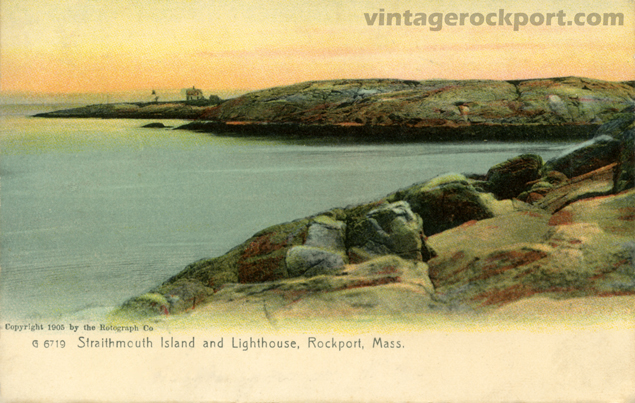 Straitsmouth Island and Lighthouse