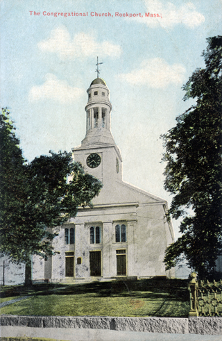 The Congregational Church, Rockport, Mass., circa 1911