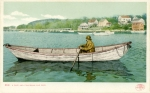A Cape Ann Fisherman and Dory, 1905