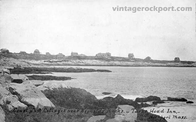 Three Views of Eden Road and Loblolly Cove, Rockport, Mass., circa 1910 (3/5)
