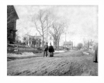 Granite Street and the Bulfinch House, Pigeon Cove, Mass., circa 1900