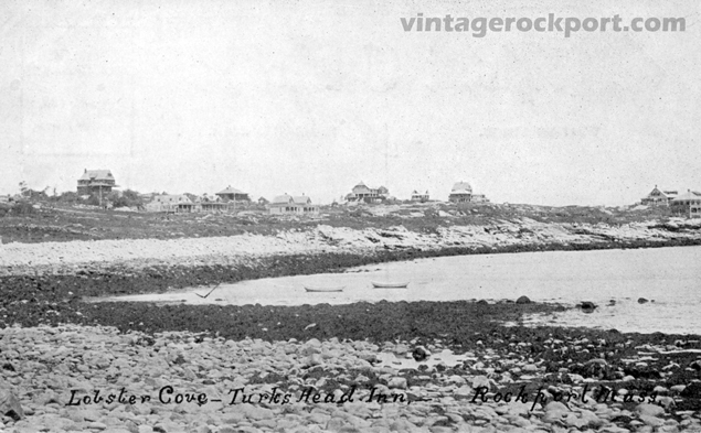 Three Views of Eden Road and Loblolly Cove, Rockport, Mass., circa 1910 (2/5)
