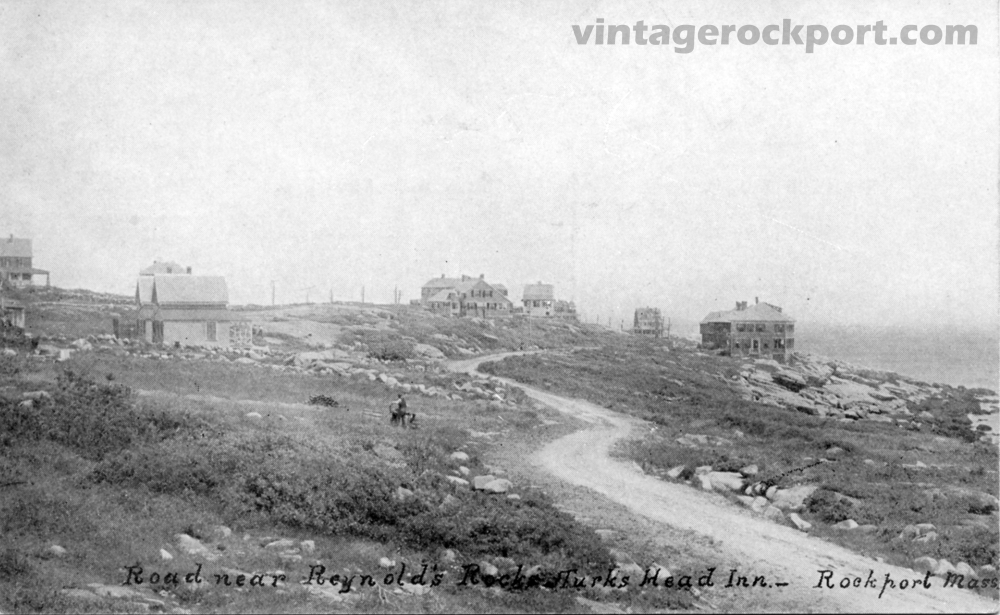 Three Views of Eden Road and Loblolly Cove, Rockport, Mass., circa 1910 (1/5)