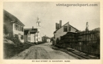 An Old Street in Rockport, Mass. (Cleaves St.), circa 1920