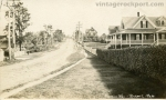 Real photo postcard, Marmion Way, Rockport, circa 1910