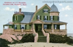Residence of J. F. Reynolds, Paradise Cliff, Rockport, Mass., c. 1908