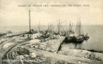 Docks of Pigeon Hill Granite Co., Rockport, Mass., circa 1910