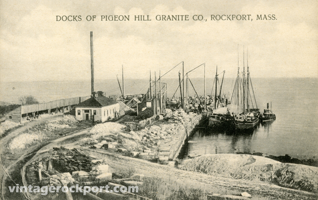 Docks-of-Pigeon-Hill-Granit