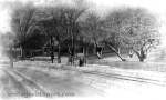 Winter Scene on Granite St., Pigeon Cove, circa 1905