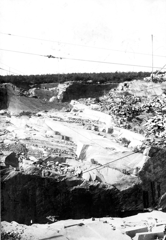 Found on the Web: Steel Derrick Quarry, 1906