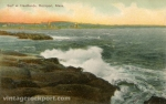 Surf at Headlands, Rockport, Mass., circa 1910
