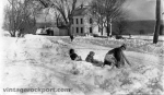 Kids Playing in Snow on Granite Street, c. 1928