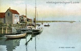 The Wharf, Rockport, Mass., circa 1908