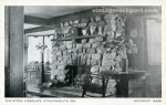 The Stone Fireplace, Straitsmouth Inn, circa 1925