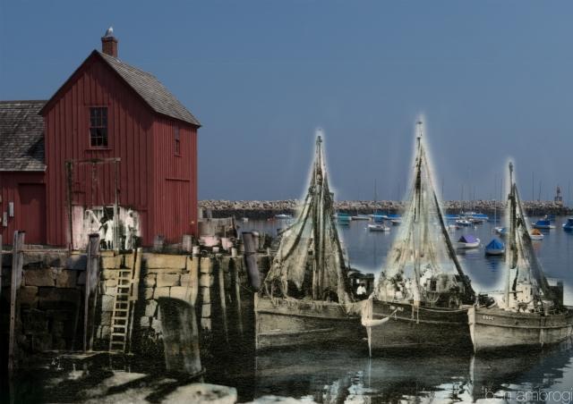 Three Fishermen of Cape Ann