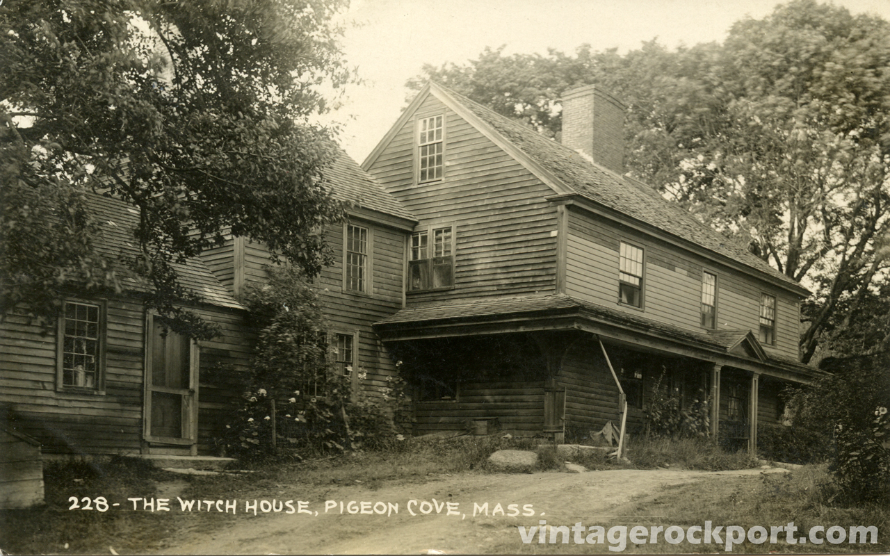 The witch house pigeon cove mass c 1915 vintage for The cove house