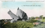 Two Identical Views of Whale's Jaw, 1908 and 1920