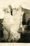 Rockport Granite Eagle for Boston's Custom House Tower, c. 1914