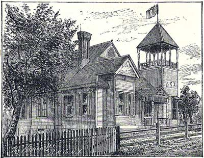 The cable company office on Norwood Ave.