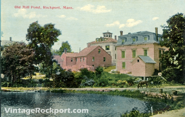 Old Mill Pond, Rockport, Mass.